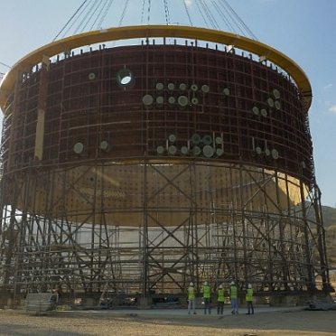 Second Tier of Internal Containment Installed at Power Unit 1 of Akkuyu NPP (Turkey)